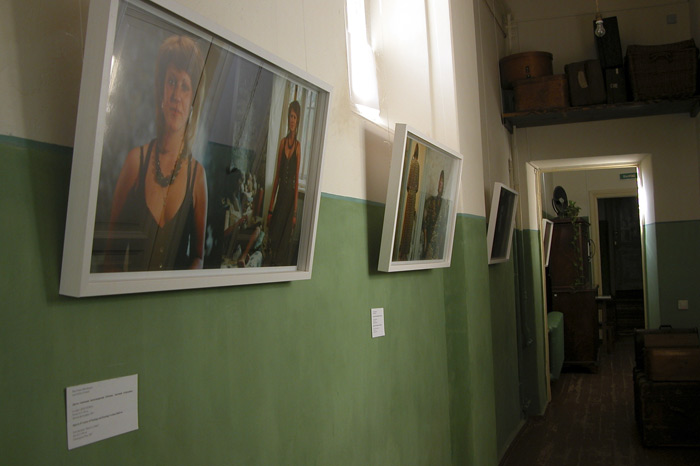 Exhibition view at the Anna Ahmatova Museum October 2007