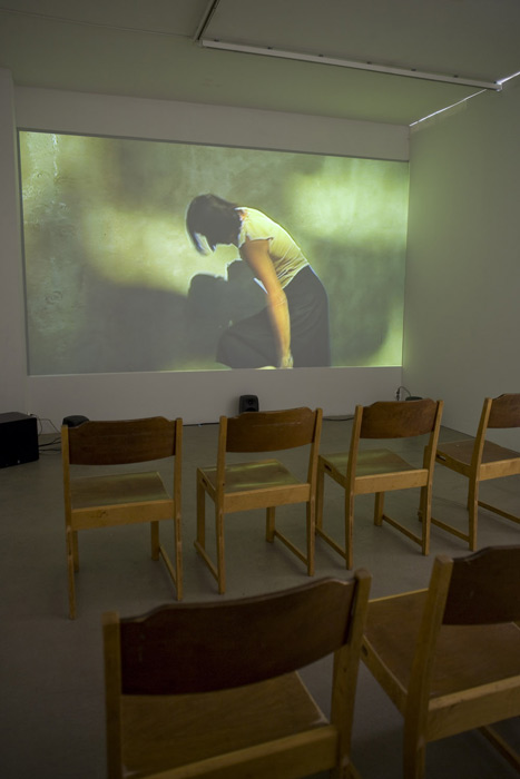 Exhibition view of Stakeout / Feet Washing Ceremony at MUU gallery, Helsinki, June 2008